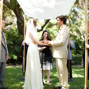 u201cWe are standing together today under the Jewish ceremonial Chuppah which is a bridal canopy. It signifies that both ____ and ____ are joining under the ...  sc 1 st  LA Wedding Woman & Jewish Traditions - LA Wedding Woman