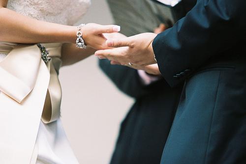 Hand Ceremony - LA Wedding Woman